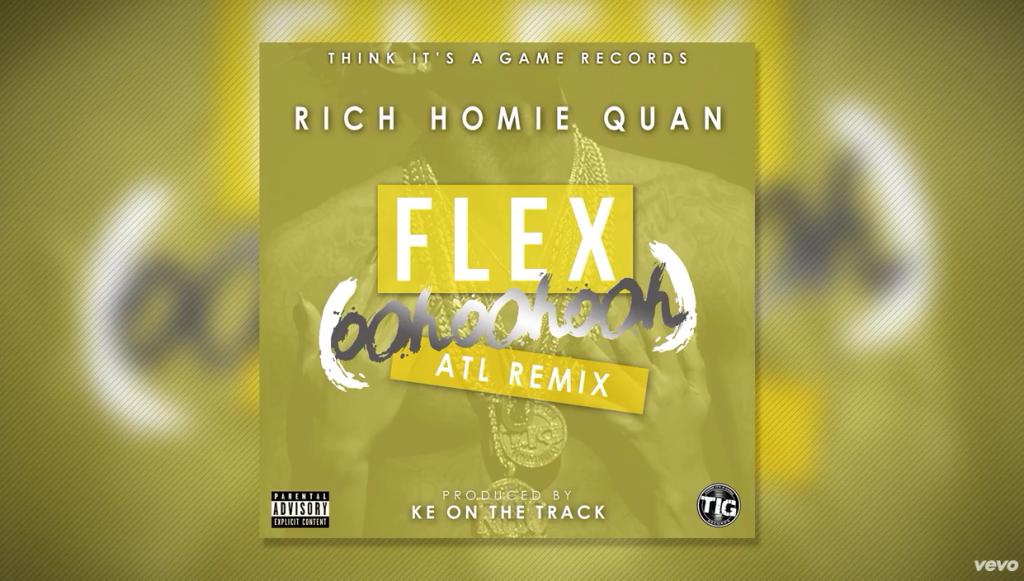 Rich Homie Quan - Flex (Ooh, Ooh, Ooh) (KE On The Track Remix)