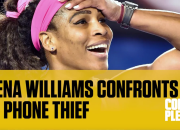 Serena Williams Confronts Cell Phone Thief