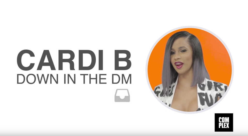 Cardi B Trolls Her Own DM's