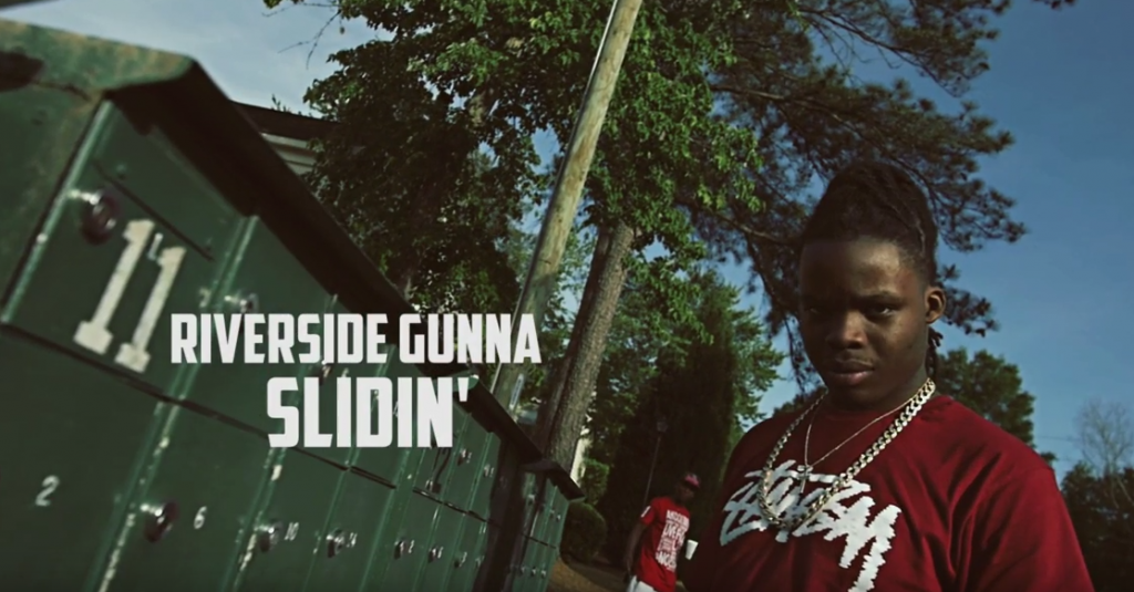 RiversideGunna - Slidin (Official Video)  @RiversideGunna