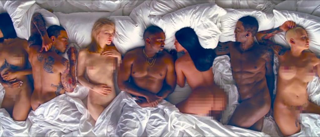 Kanye West - Famous @kanyewest @KimKardashian
